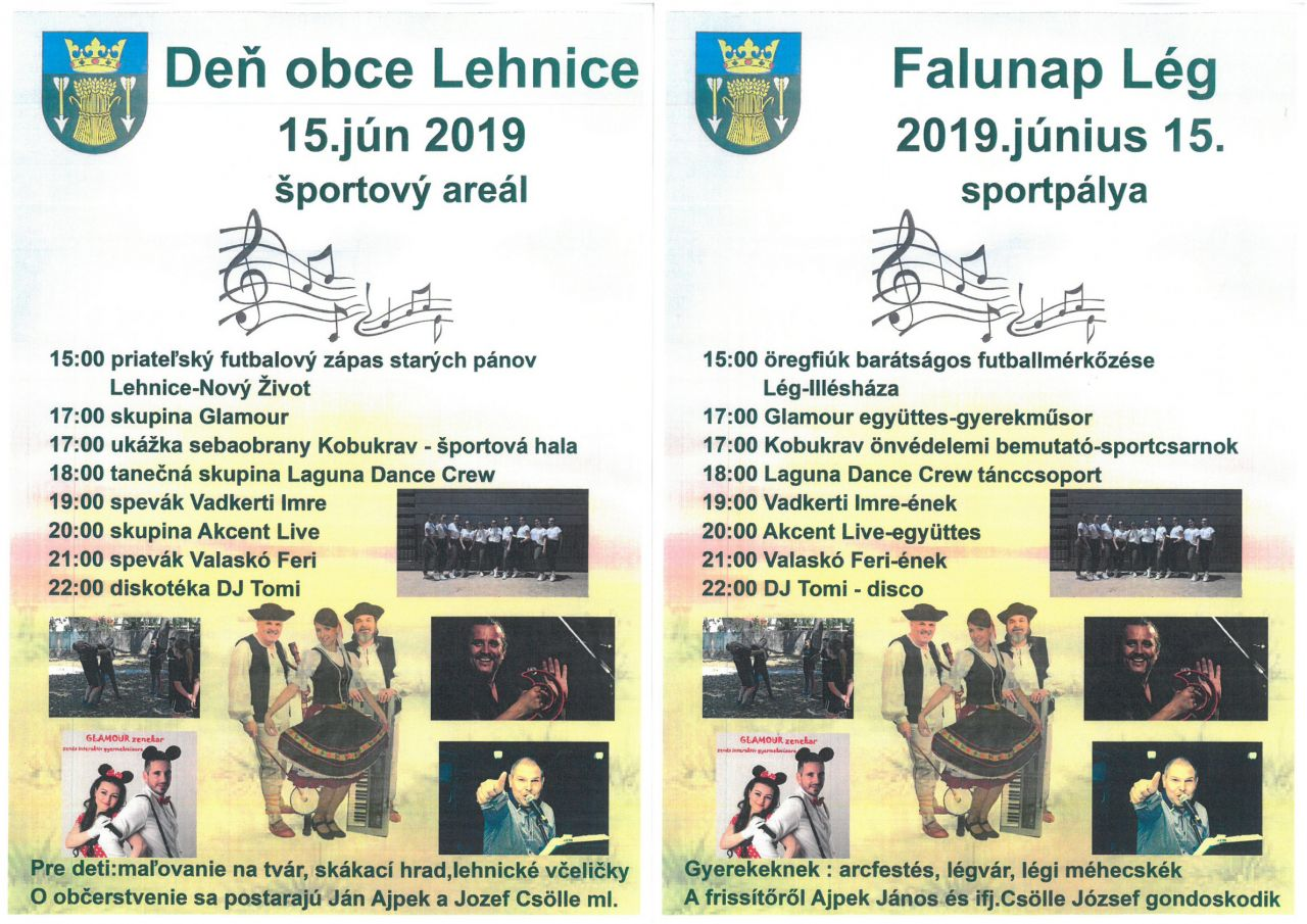 c8a4855fa Aktuality - Pozvánka / Meghívó - Oficiální stránky obce Lehnice